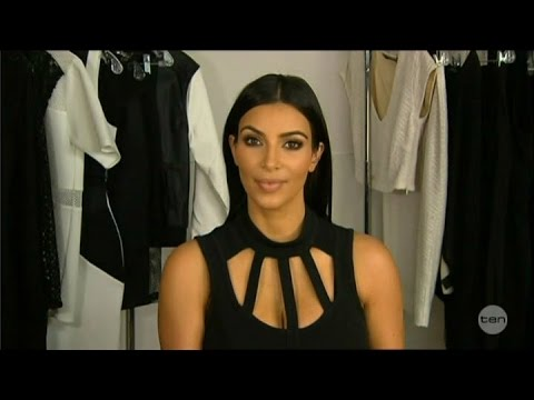Kim Kardashian-West LIVE Australian Tv Interview 12-9-2014