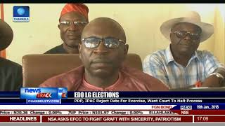 PDP, IPAC Reject Date For Edo LG Elections