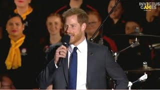 Prince Harry kicks off Invictus Games in Australia