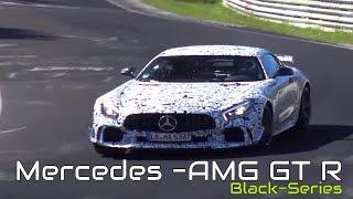 2018 Mercedes AMG GT R Black Series Spied testing on the Nurburgring, Nordschleife!
