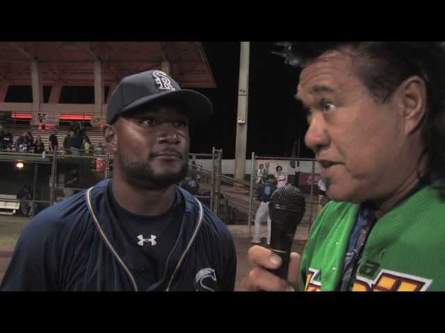07/19/13 Price Kendall GRAND SLAM Interview San Rafael Pacifics vs. Na Koa Ikaika Maui