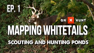 HOW TO HUNT PONDS! - Mapping Whitetails