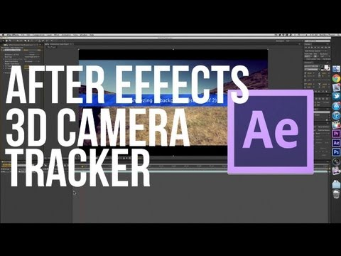 After Effects CS6 3D Camera Tracker