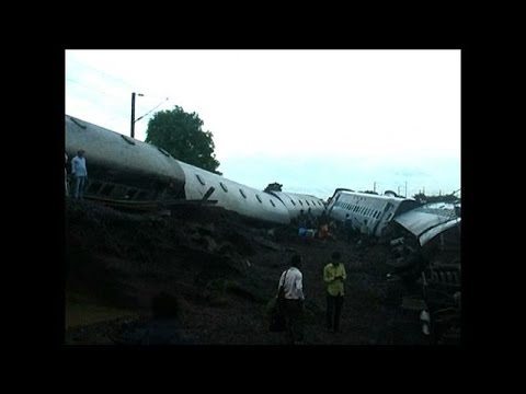 At least 27 dead after two trains derail in India