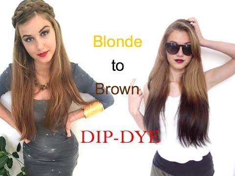 Blonde to Brown: Dip-Dye | Stella Cini