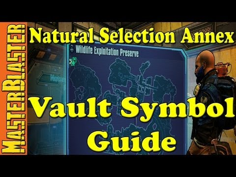 Borderlands 2 Natural Selection Annex Cult Of The Vault Symbol Challenge Location