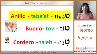 Alef Bet- Tet to Lamed