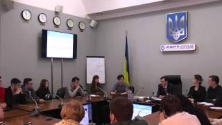 Лекція №2 весняної школи НАЕК «Енергоатом». Виступ Олександра Болібока.