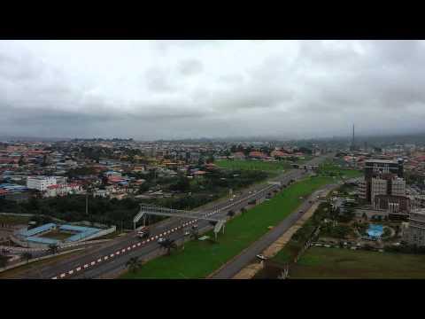 Malabo City view Equatorial Guinea