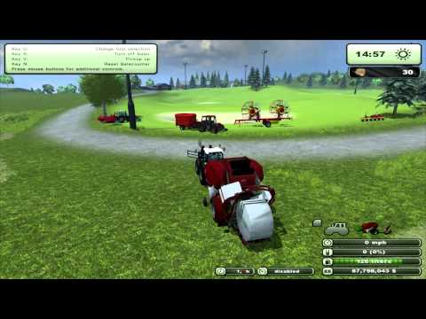 Farming Simulator 2013 Mod Review Update Lely Welger Tornado V 2 1(EN)