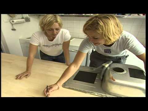 Bauanleitung, Küchenarbeitsplatte Austauschen
