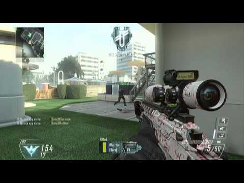 Black Ops 2: Fun with snipers #2 with Ninja Spy Alche - GGB