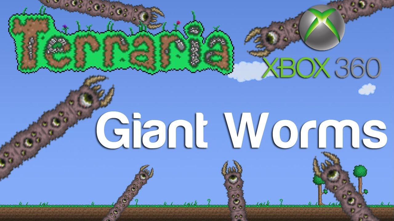 Terraria Xbox Giant Worms 45 YouTube