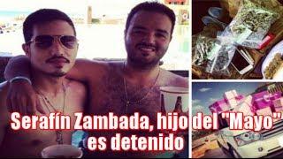 """Serafín Zambada hijo del """"Mayo"""" Zambada es detenido en Estados Unidos"""