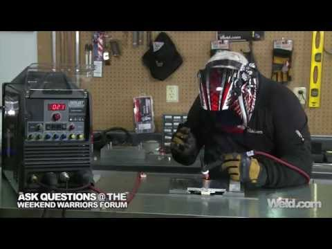 How to Weld Aluminum on DCEN: Part 2   TIG Time