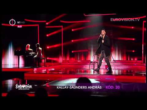 András Kállay-saunders - Running (hungary) 2014 Eurovision Song Contest