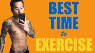 THE BEST TIME TO WORKOUT FOR WEIGHT LOSS (Maximize Fat Burning)