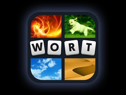 4 Bilder 1 Wort - Lösung Level 1 - 40 Answers [HD] (iphone, Android, ipad)