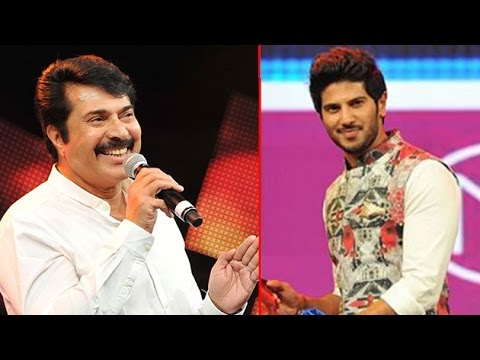 Mammootty & Dulquer Salmaan Receives Asia Vision Film Awards 2014