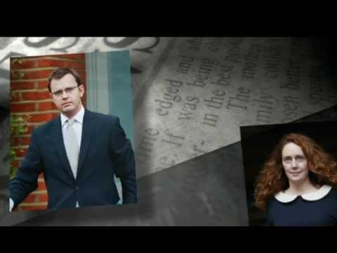 Rebekah brooks and Andy Coulson charged