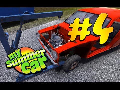 Как собрать двигатель в my summer car 2018