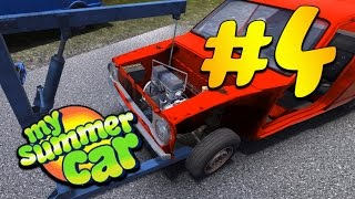 My Summer Car - часть 4 | установка двигателя