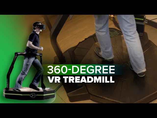 360-degree VR treadmill is finally available