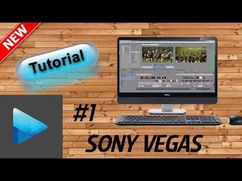 Sony Vegas pro 14 Tutorial ITA - come editare un video - nozioni base - Lipl3x