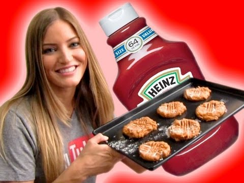 HOW TO MAKE KETCHUP COOKIES!