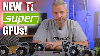 NVIDIA's new Super series GPUs Benchmarked...
