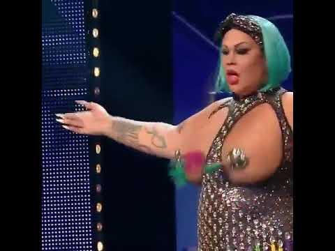 Самые большие сиськи на телевидении! Самая большая танцующая грудь в мире