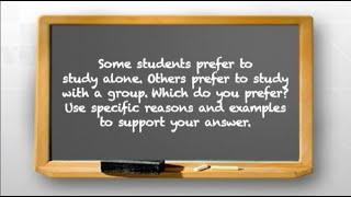 Nói tiếng Anh với người bản xứ (Luyện thi TOEFL): Study alone or with a group?