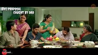 Best Comedy Scene《Love Praposal Caught By Dad》 - Bramhanandan & Allu Arjun