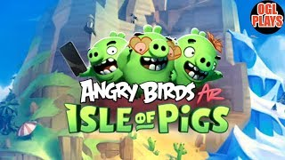 ANGRY BIRDS AR: ISLE OF PIGS Early Access Gameplay