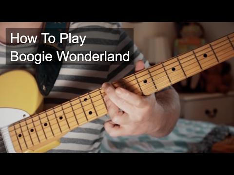 Boogie Wonderland Guitar Tutorial