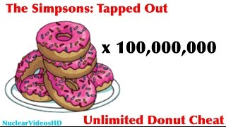 TSTO: (Possible) In-Game Unlimited Donuts Glitch