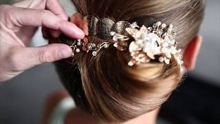 DOBI Hair Tutorial - Classic Hollywood Hair up by Martin Dürrenmatt