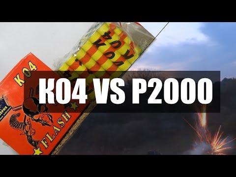 Мощная петарда Р2000 VS K04 \ Кастрюля в космосе!