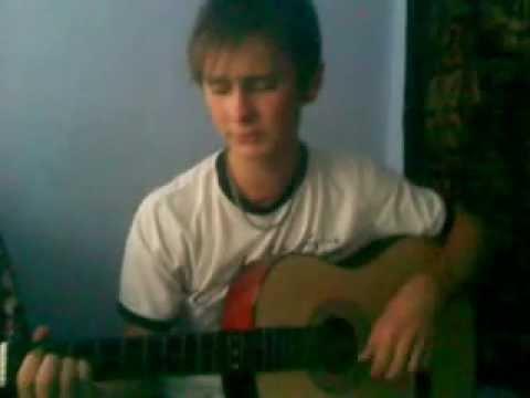в городском саду на гитарі
