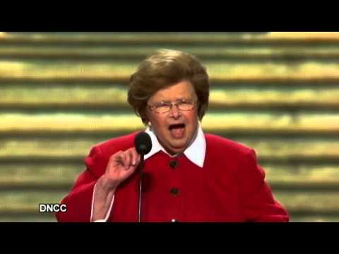Sen. Barbara Mikulski: Fighting With 'Our Lipstick On' (Democratic National Convention Speech 2012)