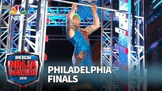 Jamie Rahn at the Philadelphia Finals - American Ninja Warrior 2016