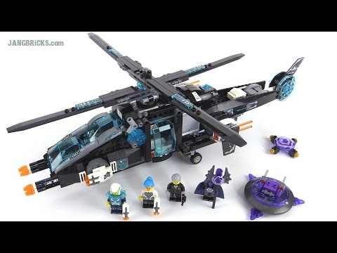 LEGO Ultra Agents UltraCopter vs AntiMatter review! set 70170