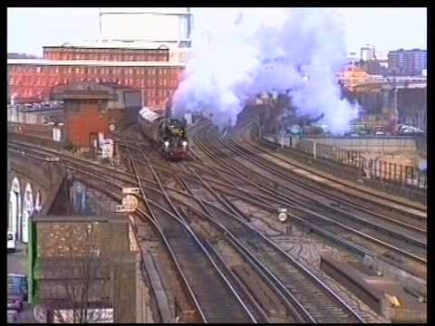 Orient Express and other trains at Wandsworth Road - A film...