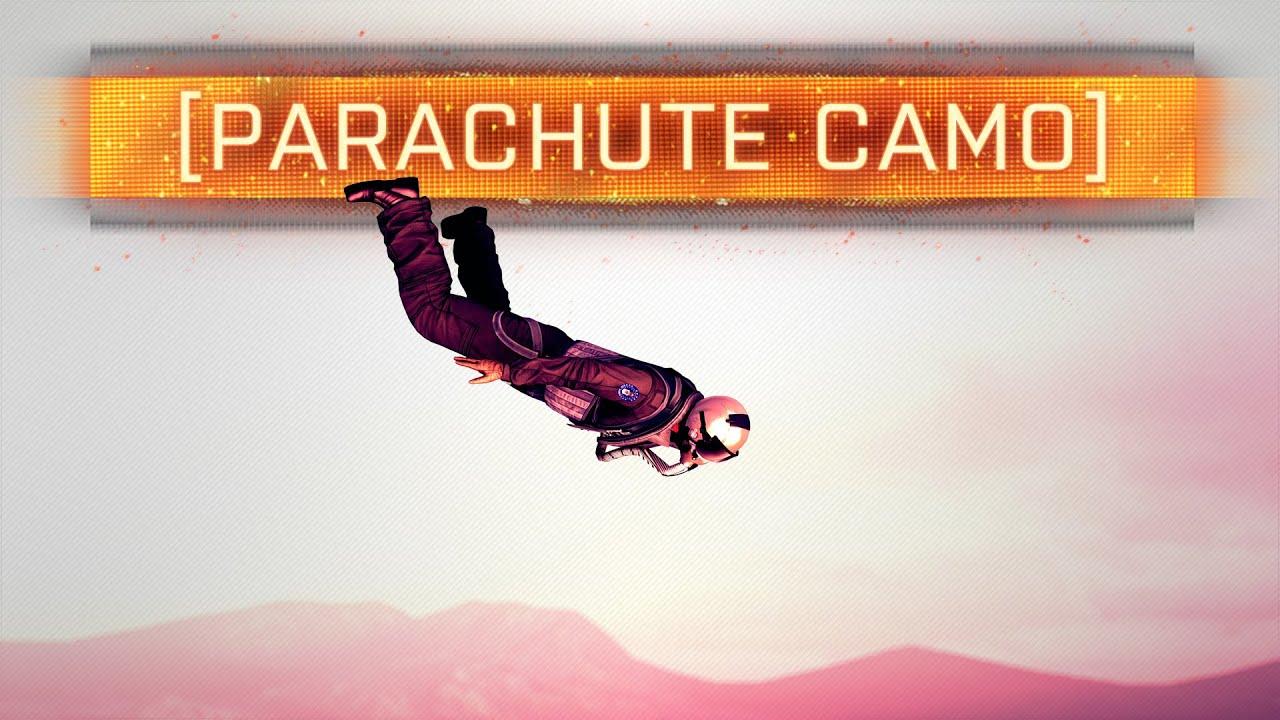 Parachute Camo Bf4 Parachute Camo 6th Dlc