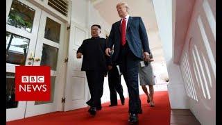 Trump Kim summit: What is the agenda? - BBC News