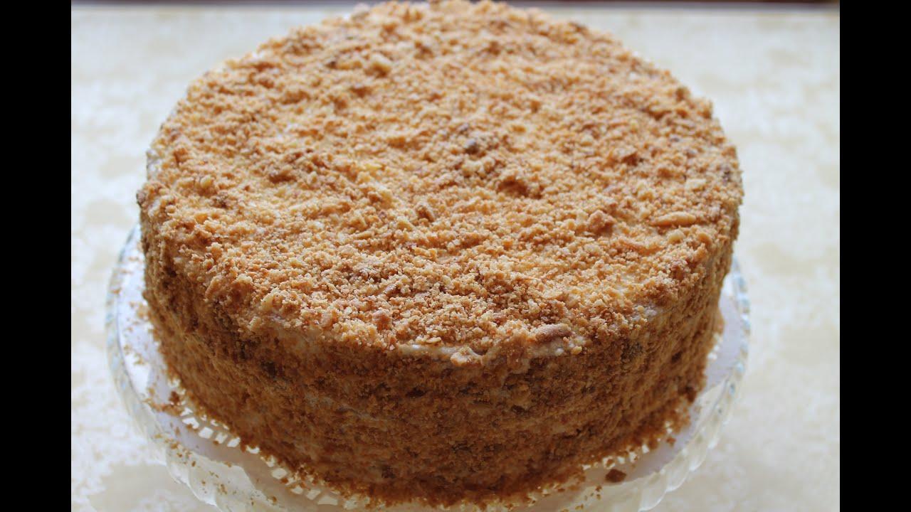 Рецепт классического торта наполеон с заварным кремом с пошаговым