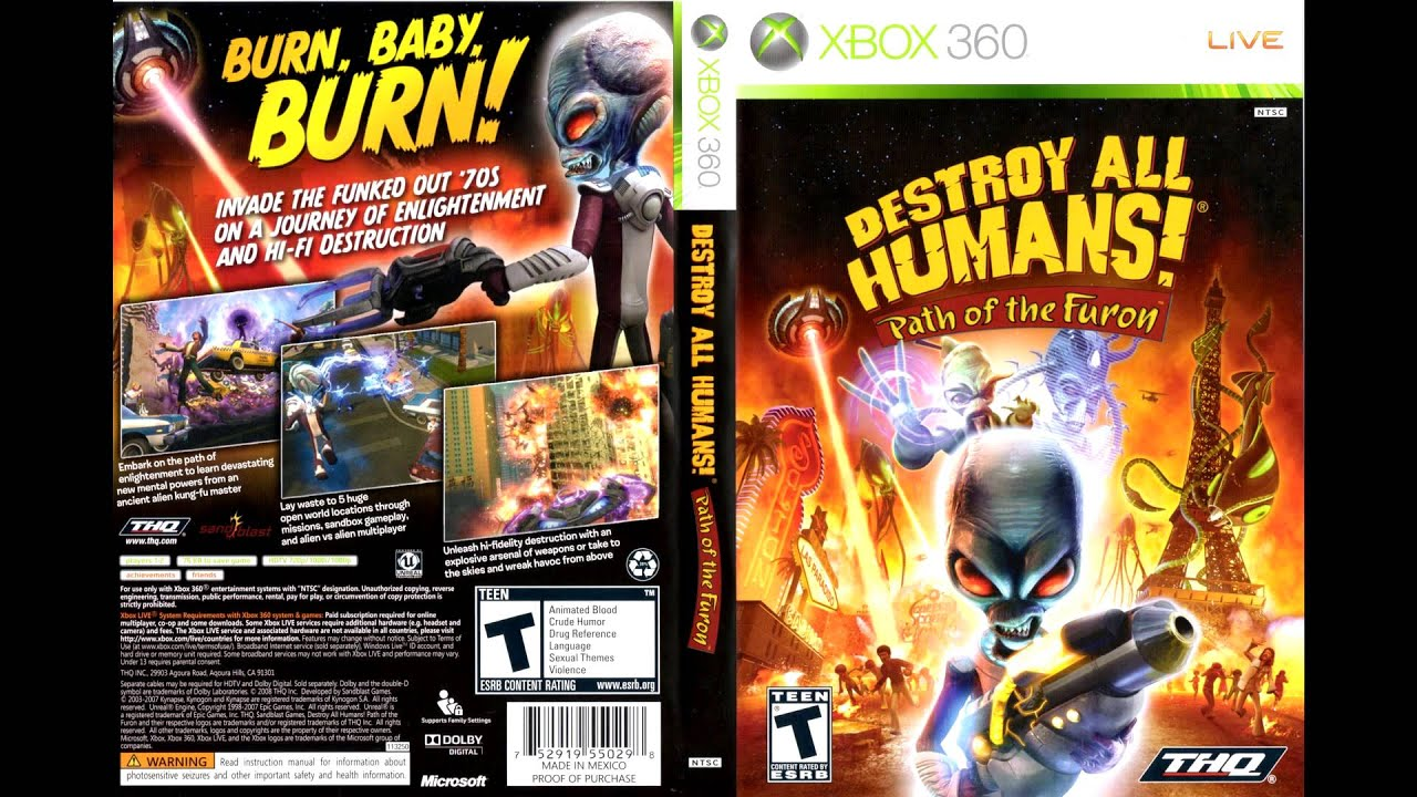Destroy All Humans 2014 Destroy All Humans Path of