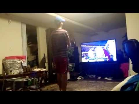 My Little Brother's 1st NBA Championship Celebration - Golden State Warriors 2015
