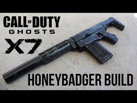 NERF RETALIATOR COD: GHOSTS HONEYBADGER MOD