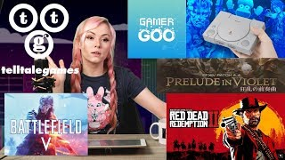 "Gaming News: Telltale SHUT DOWN! BF5 Censors ""White Man""? RDR2 Horse Balls!? FFXIV 4.4! Gamer Goo??"